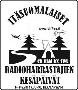 IDÄN KESÄPÄIVÄT LOGO 2014pvmd